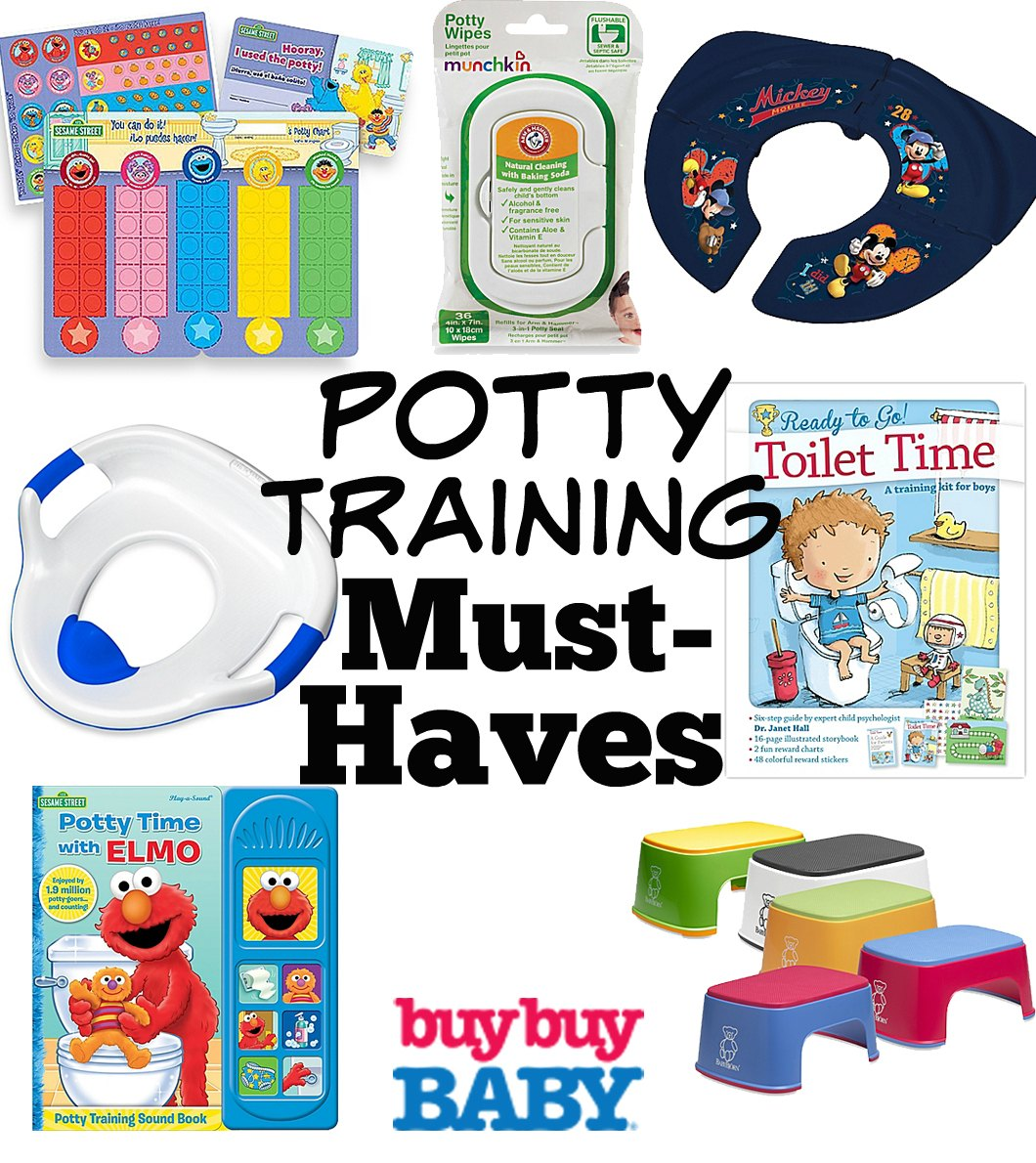 potty training must-haves