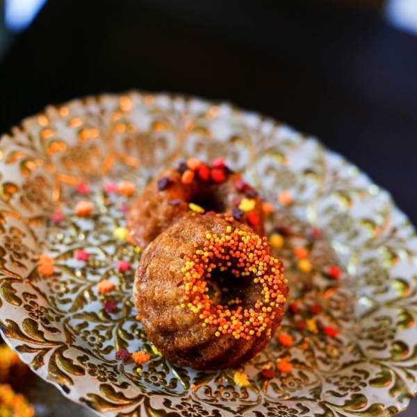 protein pumpkin spice donuts