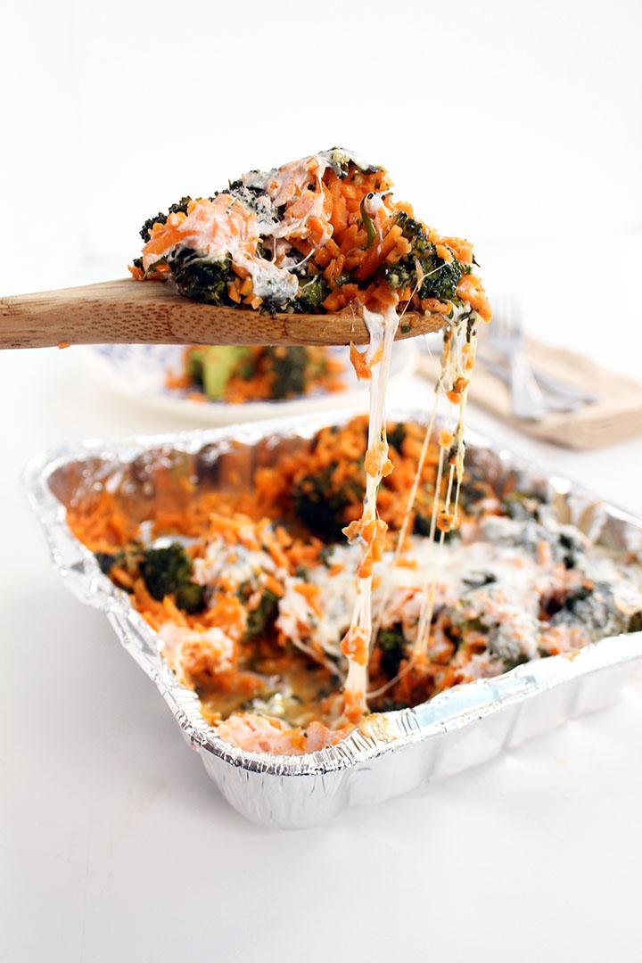 Pesto Broccoli Casserole