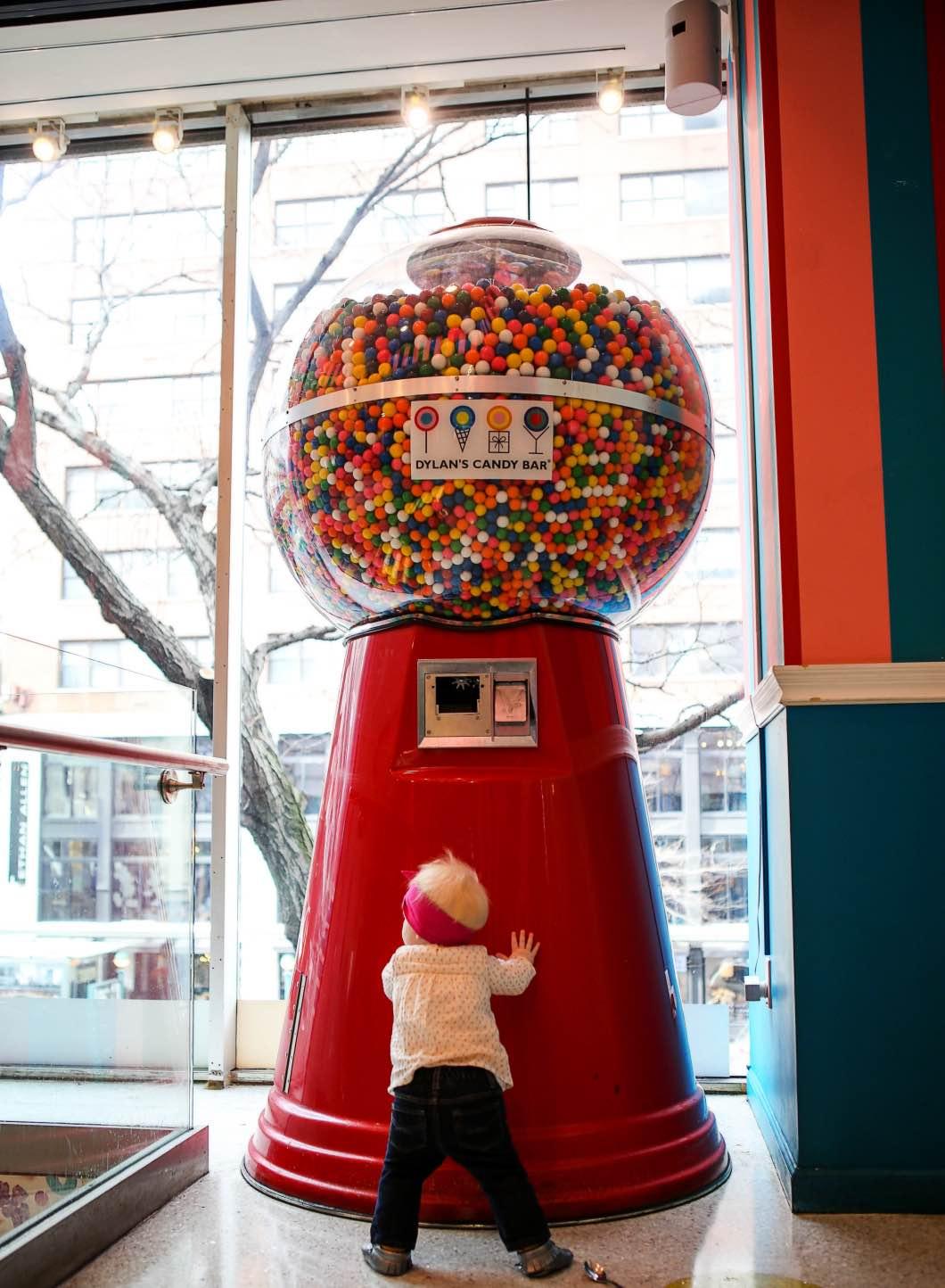 Giant gumball machine new york