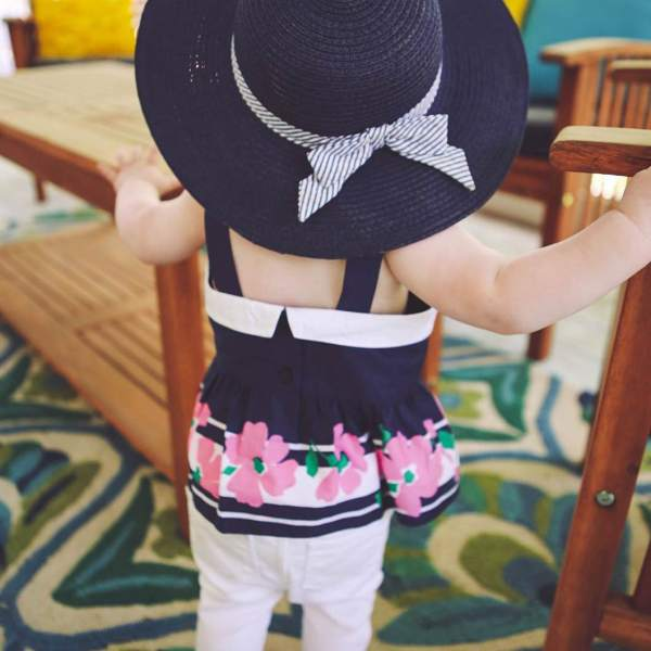 Baby Girl Spring Outfit