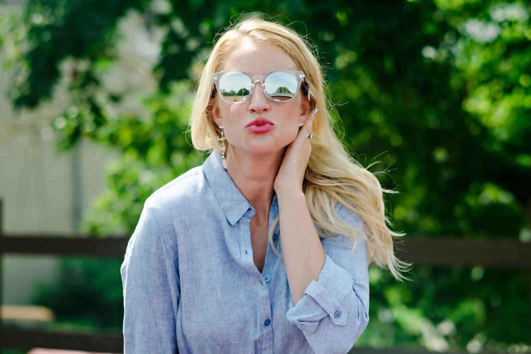 best of sunglasses - Summer / Fall Sunglasses Style by Atlanta fashion blogger Happily Hughes