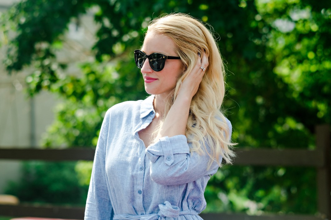 foster grant sunglasses - Summer / Fall Sunglasses Style by Atlanta fashion blogger Happily Hughes