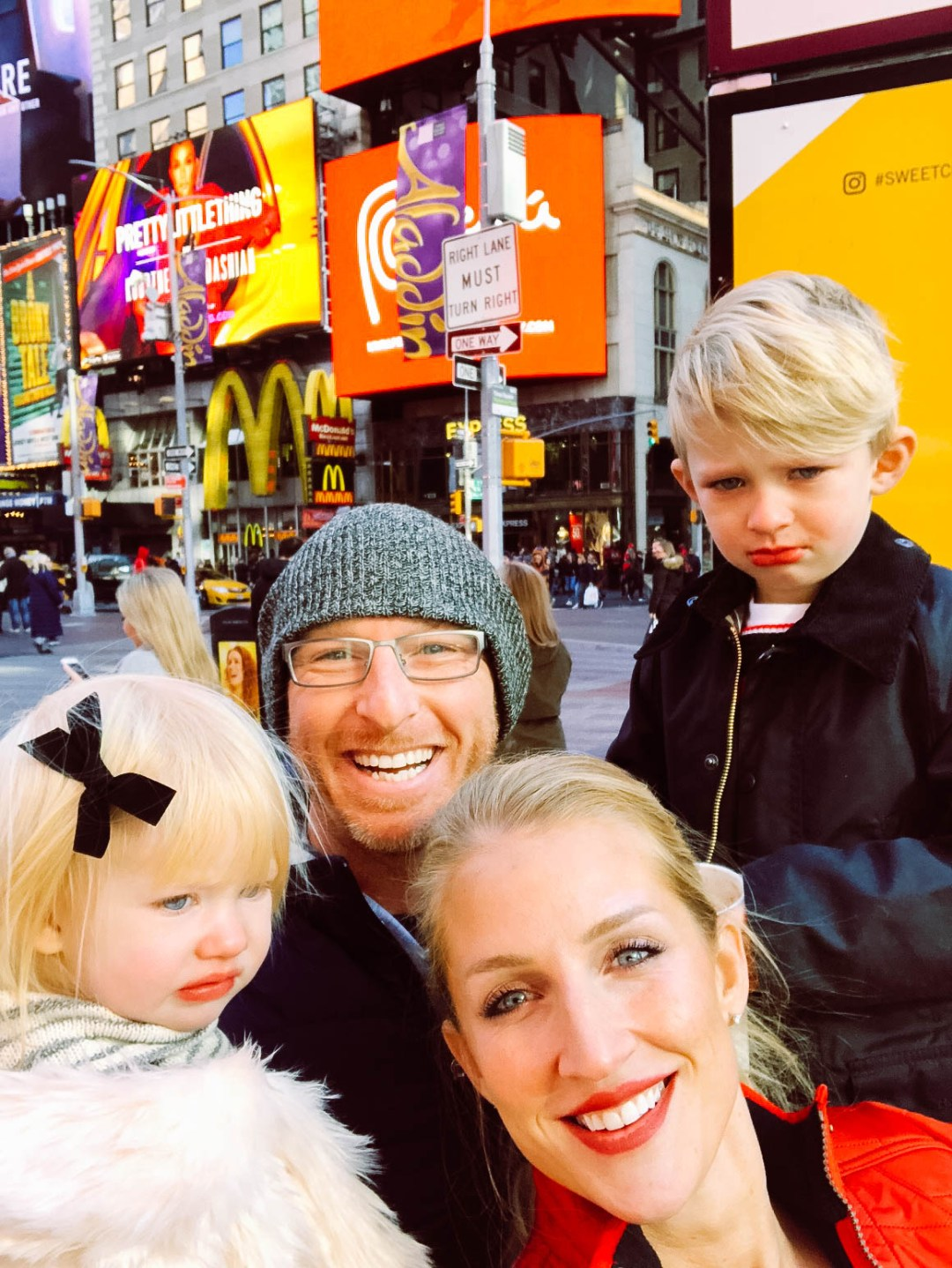 Holidays in New York with Your Family by popular Atlanta blogger Happily Hughes