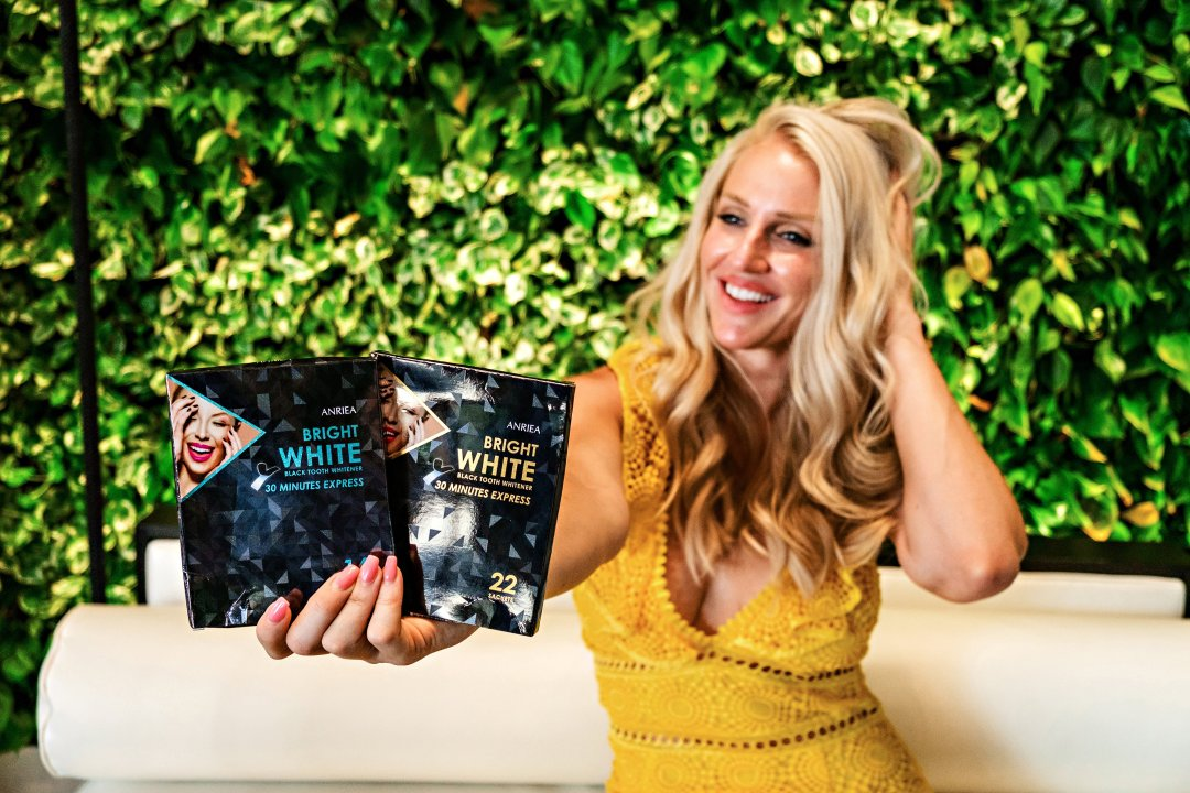 Looking for the perfect natural teeth whitening? Popular Atlanta Blogger Happily Hughes is sharing her latest obsession- all natural teeth whitening! Click to see it HERE!