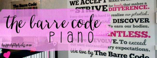 The Barre Code Plano