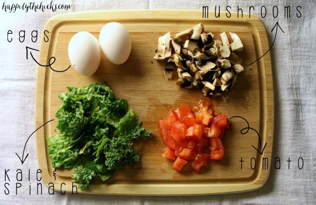 breakfast egg scramble