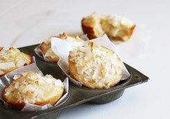 Pineapple Coconut Muffins from hometoheather.com