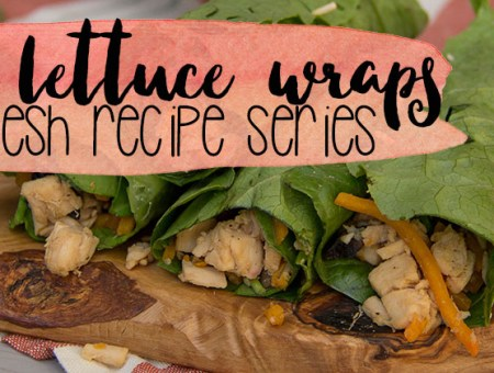 Chicken Lettuce Wrap- Light & Fresh Recipe Series | read more at happilythehicks.com