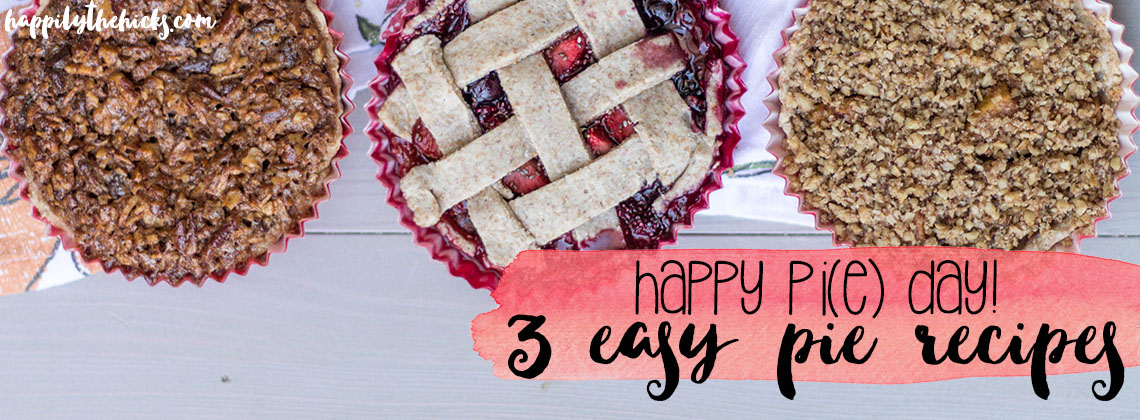 Happy Pi(e) Day – 3 Easy Pie Recipes