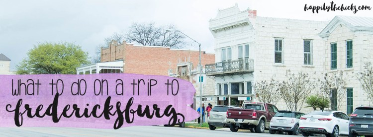 What to do on a trip to Fredericksburg - eats, shops and things to see & do! | read more at happilythehicks.com