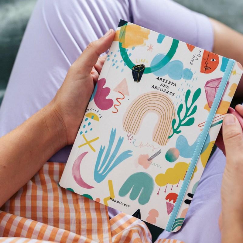 Cuaderno Artista Del Arcoiris