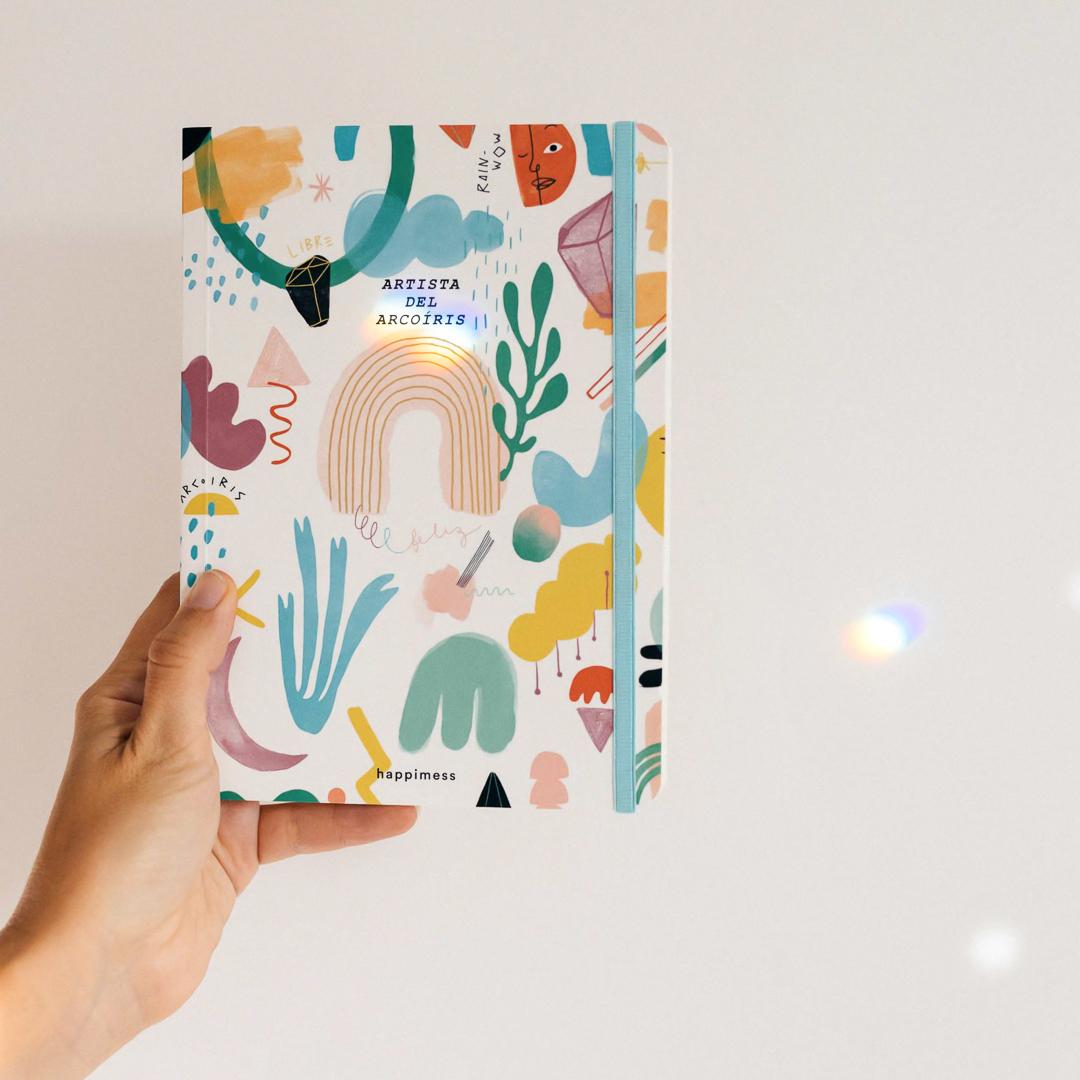 Artista del Arcoíris Cuaderno Cosido