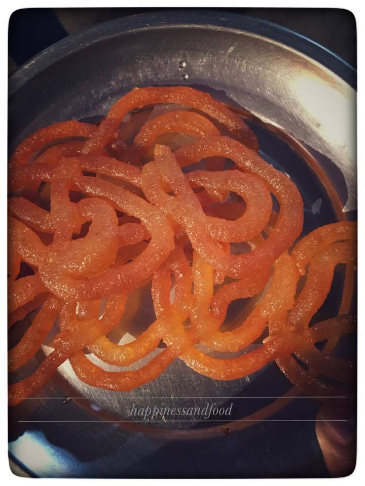 My love for jalebi that knows nothing
