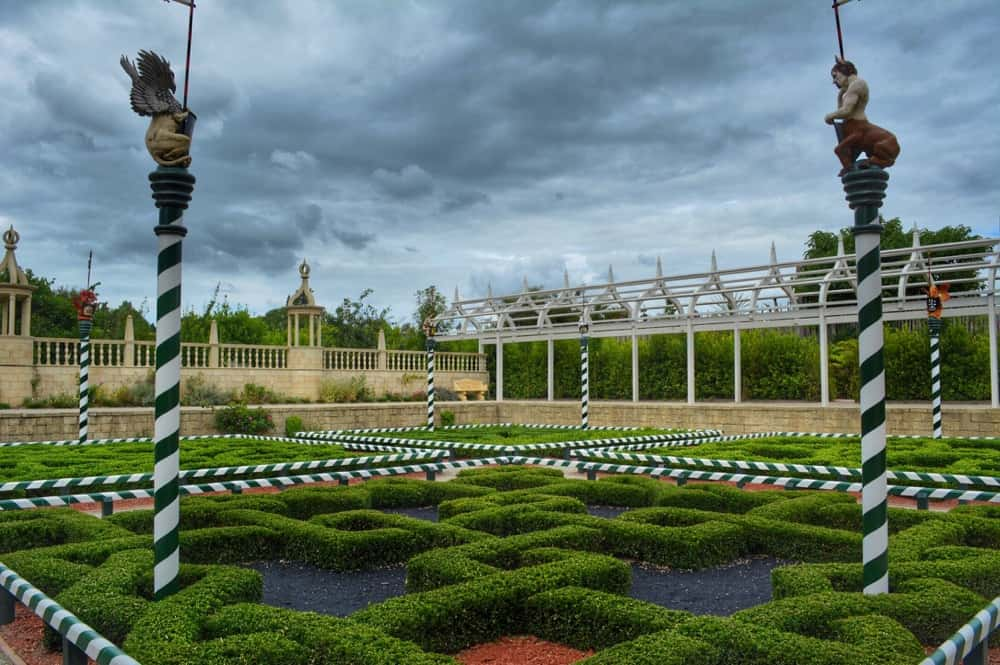 Dramatic Tudor Garden