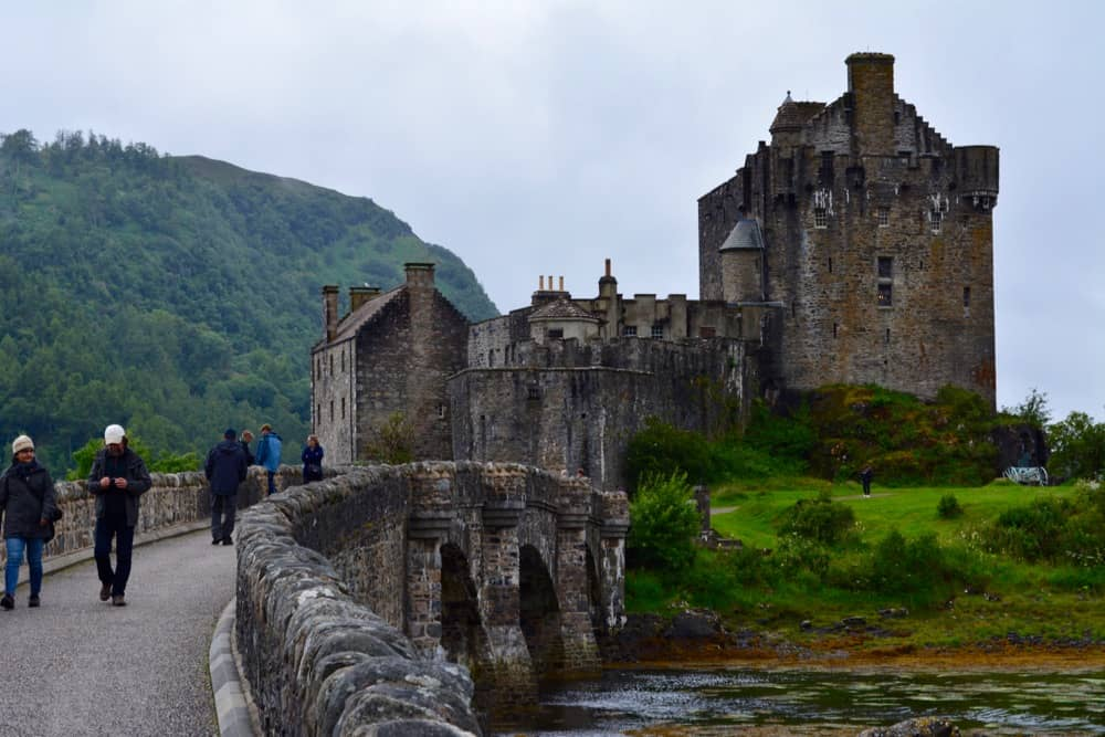 Eilean Donan with the bridge