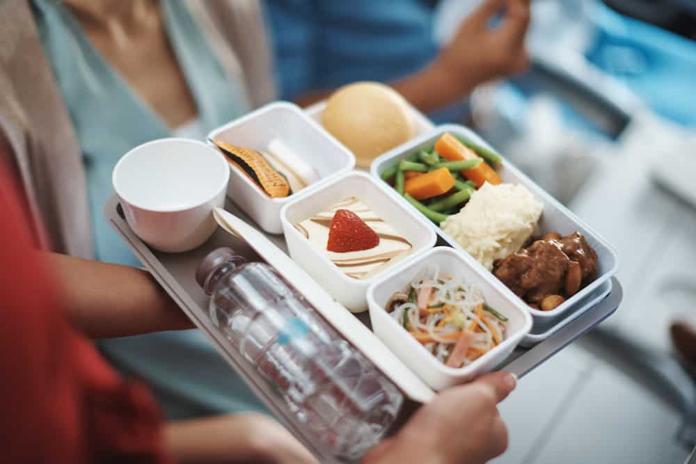 Cathy Pacific meals
