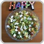 Chickpea, Quinoa & Almond Salad