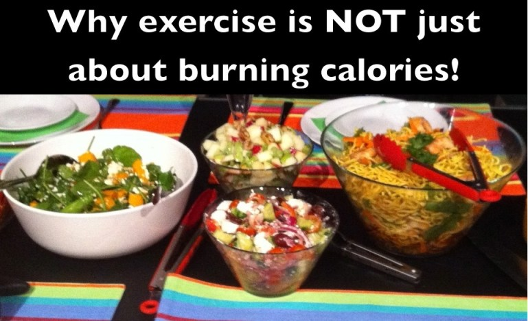 Why exercise is not just about burning calories