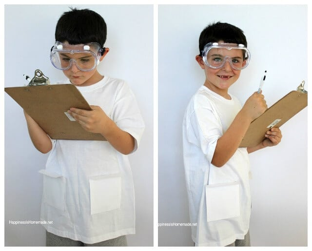 Easy Scientist Costume Set