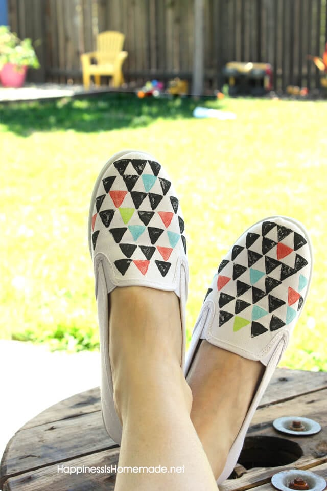 Stamped Shoes