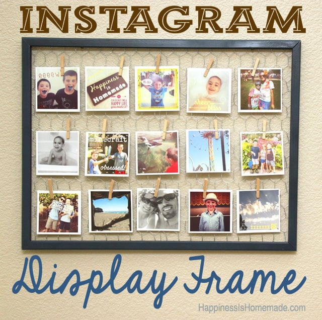How to Make An Instagram Photo Display Frame