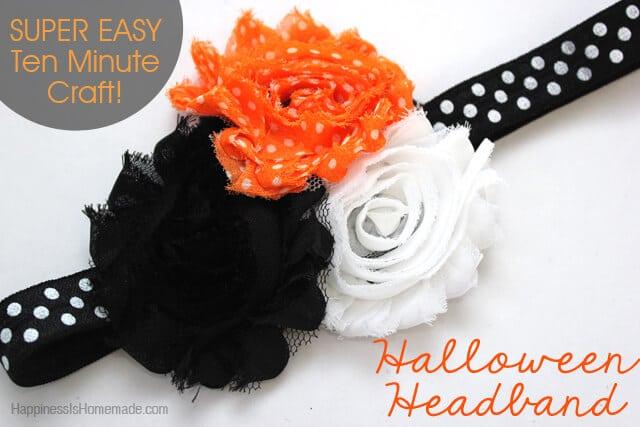 Quick and Easy Halloween Headband Tutorial