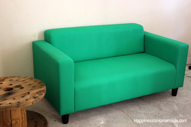 How to Paint an Ikea Couch