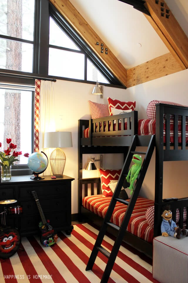 Kids Bunk Room at the 2014 HGTV Dream Home