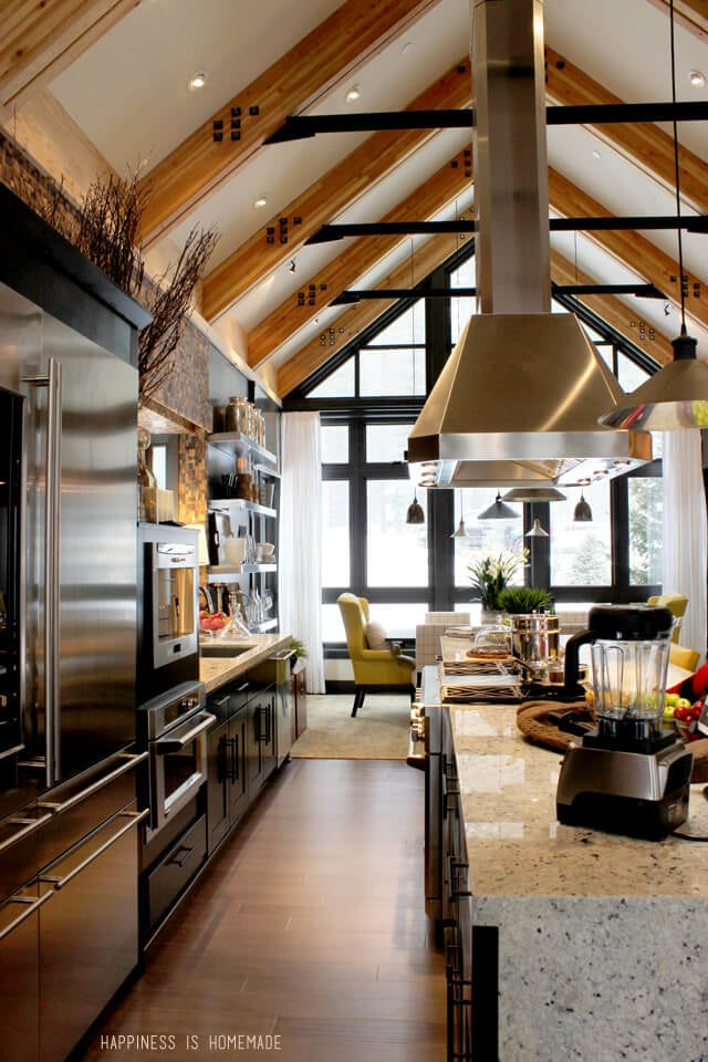 Kitchen at the 2014 HGTV Dream Home
