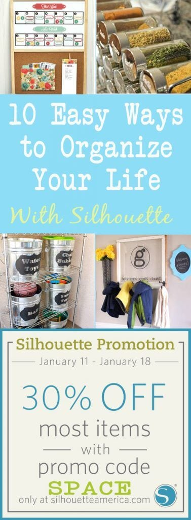 10 Ways to Organize With Silhouette