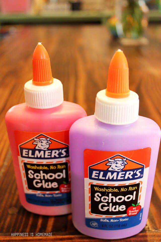 Colored Elmer's School Glue