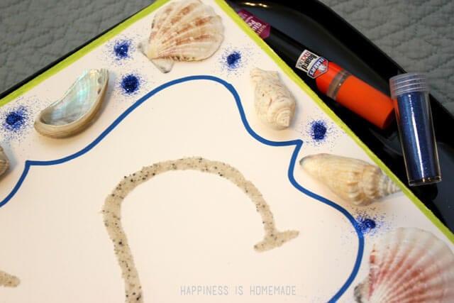 Beach Themed Kids Art Craft