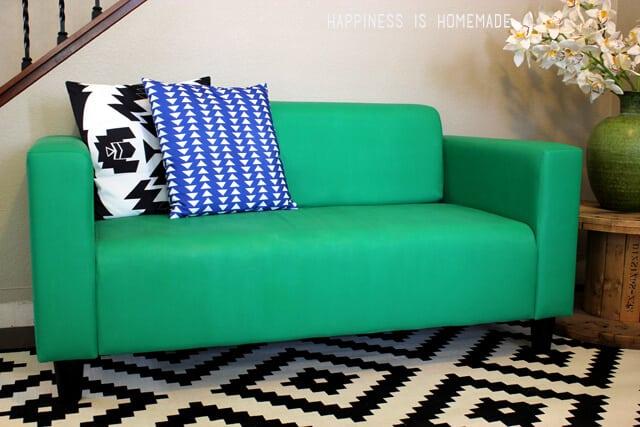 Painted Ikea Sofa