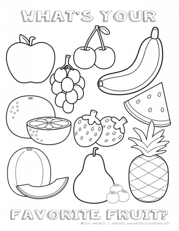free preschool coloring pages # 12