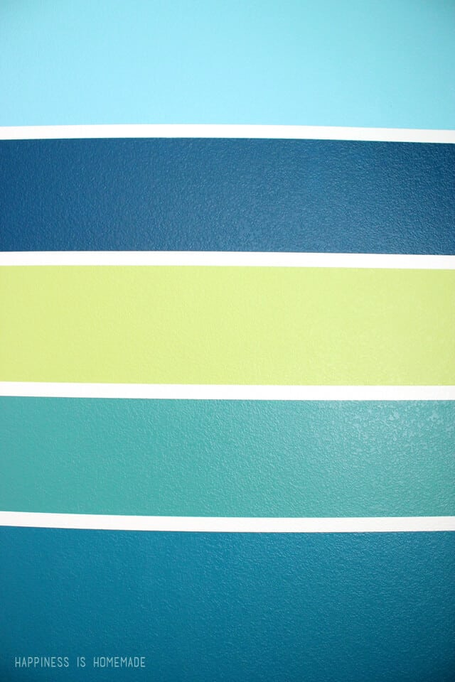 Get Perfect Striped Lines on Textured Walls with Frog Tape