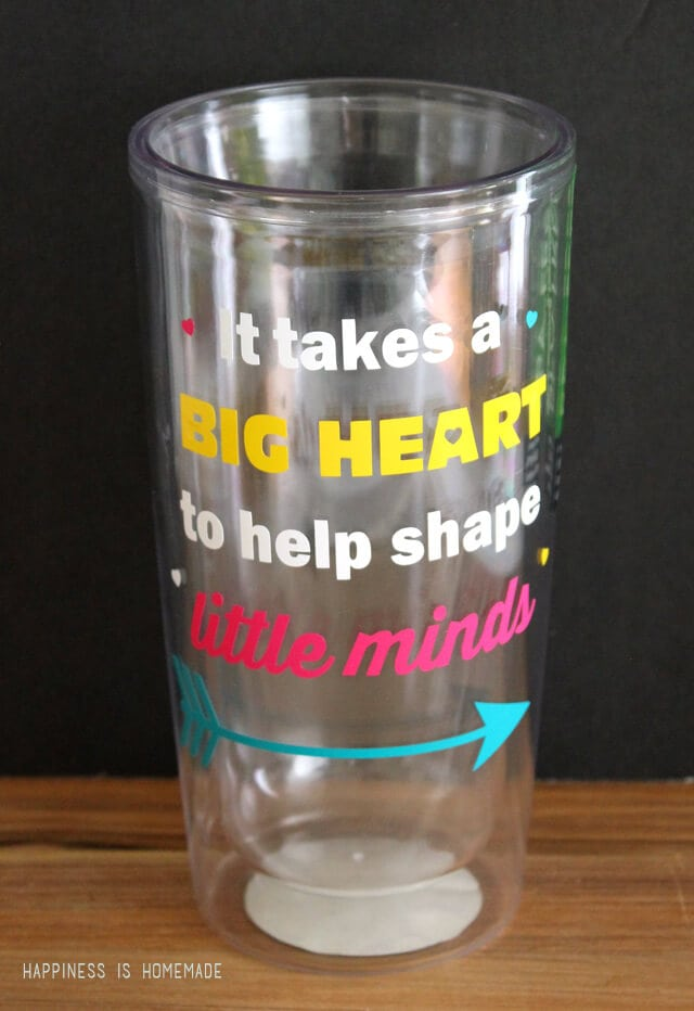 Quick Teacher Gift Idea Quote Cup Amp Well Miss You A