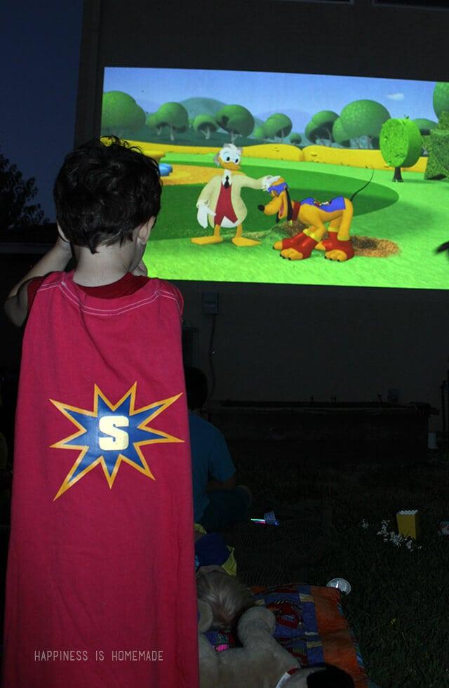 Easy Personalized Superhero Cape