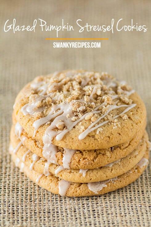 Glazed-Pumpkin-Streusel-Cookies