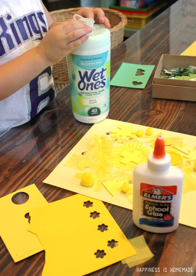 Making-Preschool-Color-Collage-Art-with-Elmers-and-Wet-Ones