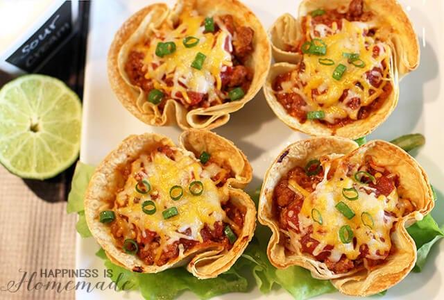 Quick Weeknight Dinner Recipe - Taco Cups