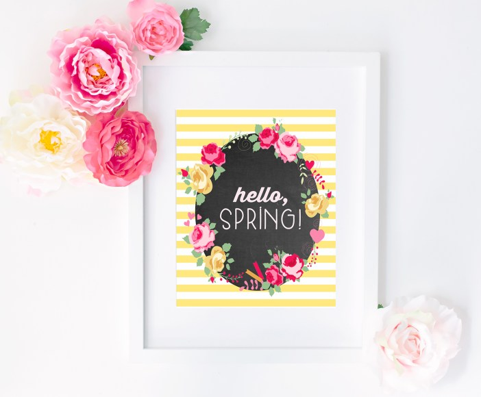 Hello, Spring! | Happiness is Homemade