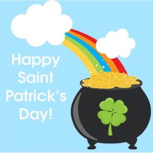 Saint Patrick's Day Bag Tags