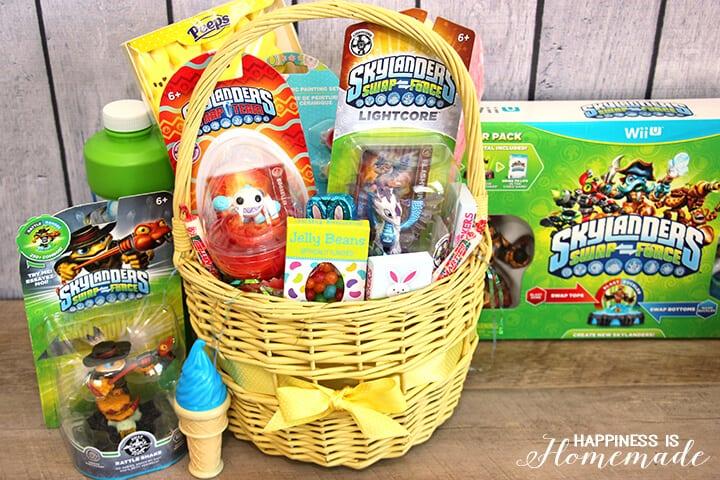 Skylanders Swap Force Easter Basket