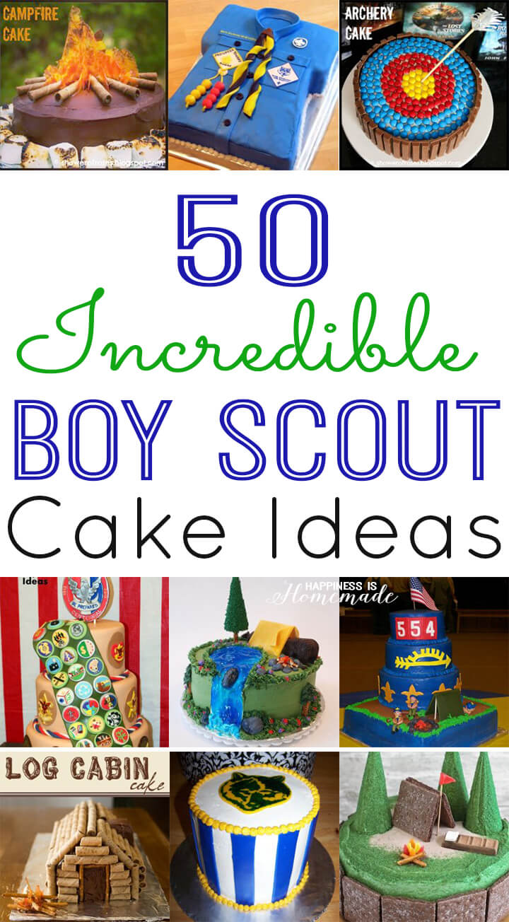 50 Incredible Boy Scout Cake Ideas