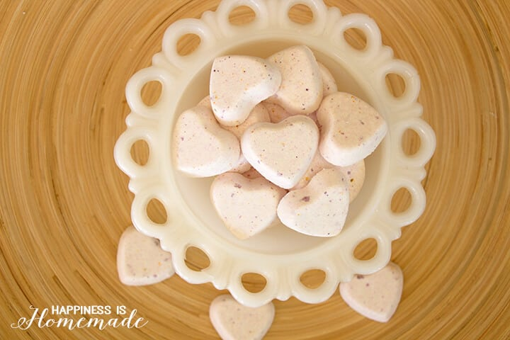 Grapefruit Citrus Fizzy Bath Bombs