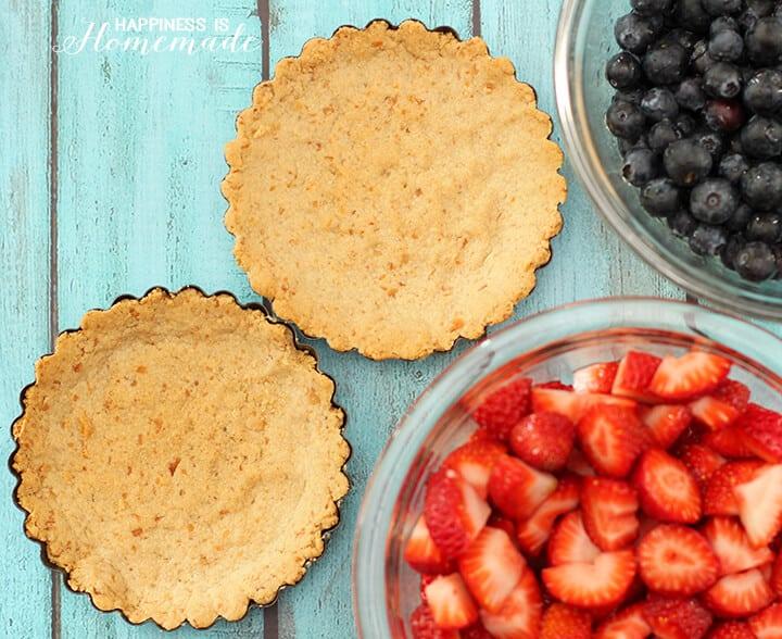 Paleo Friendly Almond Flour & Coconut Tart Shell Crust Recipe