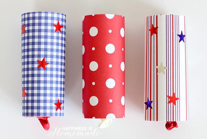 4th of July Confetti Launchers