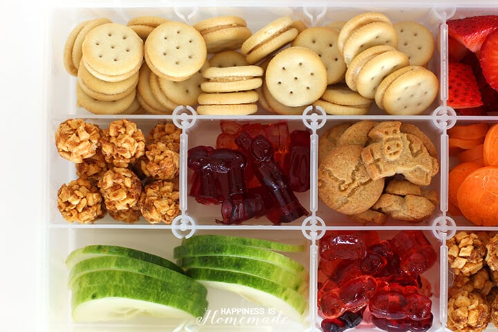 On the Go Travel Snack Box