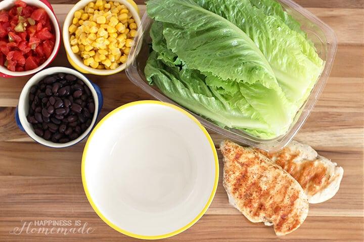 Quick and Easy Chicken Taco Salad Recipe